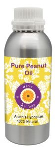 Pure Peanut Oil 300ml (arachis Hypogeae) 100% Natural Cold Pressed