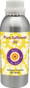 Pure Safflower Oil 630ml - Carthamus Tinctorius 100% Natural Cold Pressed