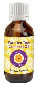 Pure Tea Tree Essential Oil 50ml (melaleuca Alternifolia) 100% Natural