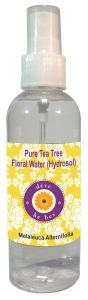 Natural Tea Tree Floral Water (hydrosol) 100ml - Melaleuca Alternifolia