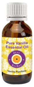 Pure Vanilla Essential Oil 50ml (vanilla Planifolia) 100 Percent Pure & Natural