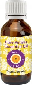 Pure Vetiver Essential Oil (5ml) - Vetiveria Zizanoides