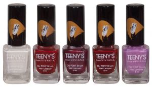 Nova,Adidas,Maybelline,Aveeno,Ag,Viviana,Archies Personal Care & Beauty - Viviana Nail Paint - (Code - Teenys Nails 01)