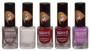 Benetton,Clinique,3m,Viviana,Brut Personal Care & Beauty - Viviana Nail Paint - (Code - Teenys Nails 02)