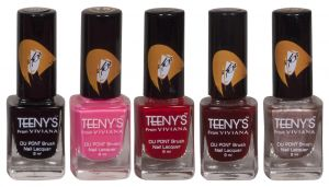 Nike,Jovan,Adidas,Aveeno,Viviana Personal Care & Beauty - Viviana Nail Paint - (Code - Teenys Nails 03)