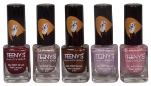 Garnier,Himalaya,Nova,Viviana Personal Care & Beauty - Viviana Nail Paint - (Code - Teenys Nails 04)