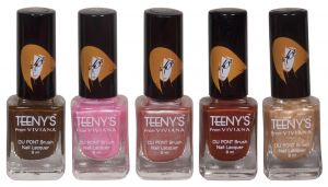 Maybelline,Estee Lauder,Viviana,Dove Personal Care & Beauty - Viviana Nail Paint - (Code - Teenys Nails 05)