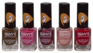 Viviana Personal Care & Beauty - Viviana Nail Paint - (Code - Teenys Nails 06)
