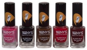 Nova,Vaseline,Viviana,Dove Personal Care & Beauty - Viviana Nail Paint - (Code - Teenys Nails 07)