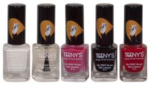 Maybelline,Estee Lauder,Viviana,Dove Personal Care & Beauty - Viviana Nail Paint - (Code - Teenys Nails 08)