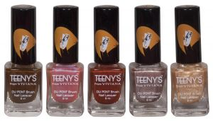Benetton,Clinique,Dior,Banana Boat,Vaseline,Viviana Personal Care & Beauty - Viviana Nail Paint - (Code - Teenys Nails 09)