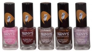 Nova,Vaseline,Viviana,3m Personal Care & Beauty - Viviana Nail Paint - (Code - Teenys Nails 10)