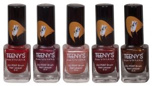 Benetton,Clinique,3m,Viviana,Brut Personal Care & Beauty - Viviana Nail Paint - (Code - Teenys Nails 16)