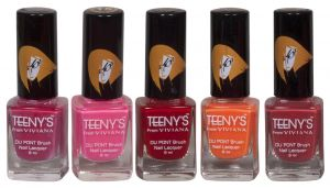 Cameleon,Clinique,Kent,Nike,Viviana,Panasonic Body Care - Viviana Nail Paint - (Code - Teenys Nails 24)
