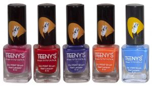 Nova,Vaseline,Viviana,3m Personal Care & Beauty - Viviana Nail Paint - (Code - Teenys Nails 30)