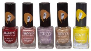 Benetton,Clinique,Alba Botanica,3m,Viviana Personal Care & Beauty - Viviana Nail Paint - (Code - Teenys Nails 33)