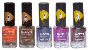 Benetton,Alba Botanica,3m,Viviana Personal Care & Beauty - Viviana Nail Paint - (Code - Teenys Nails 36)