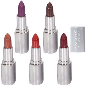 Viviana Personal Care & Beauty ,Health & Fitness  - VIVIANA COLOUR SPECIAL LIPSTICKS  PACK