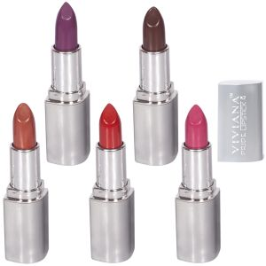 Garnier,Himalaya,Nova,Viviana,Cameleon,Jazz Body Care - VIVIANA COLOUR SPECIAL LIPSTICKS  PACK