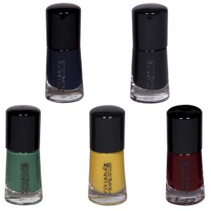 Benetton,Alba Botanica,3m,Viviana Body Care - VIVIANA COLOUR SPECIAL NAIL PAINT PACK