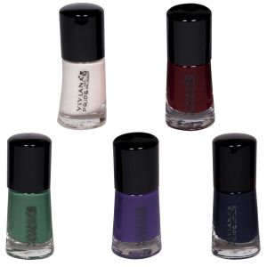 Viviana Personal Care & Beauty ,Health & Fitness  - VIVIANA COLOUR SPECIAL NAIL PAINT PACK