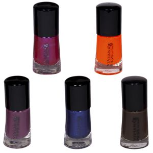 Benetton,Clinique,Dior,Banana Boat,Vaseline,Viviana Personal Care & Beauty - VIVIANA COLOUR SPECIAL NAIL PAINT PACK