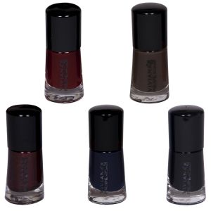 Maybelline,Estee Lauder,Viviana,Dove Personal Care & Beauty - VIVIANA COLOUR SPECIAL NAIL PAINT PACK