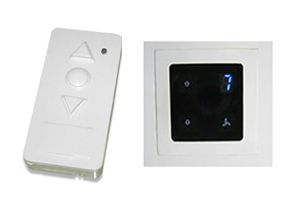 Apex Touch Based Remote Fan Regulater With Timer And Display