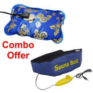 Deemark Combo Of Ab Slimmer With Warm Bag
