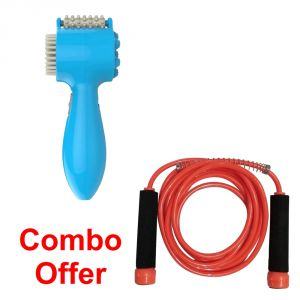 Deemark Combo Of Brain Comfort With Skiping Rope