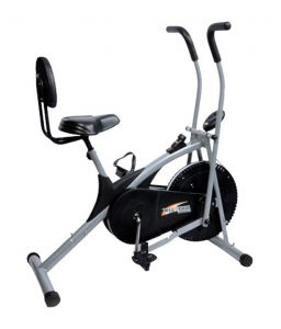 Exercise Bikes - Deemark Air Bike Stamina With Back Support
