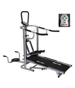 Cardio Machines - Deemark EZ Track 4 In 1 Manual Treadmill