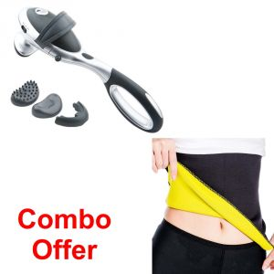 Deemark Combo Of Infrarot Massager With Hot Shepar-l