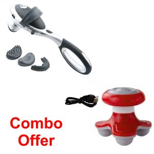 Deemark Combo Of Infrarot Massager With Mini Massager
