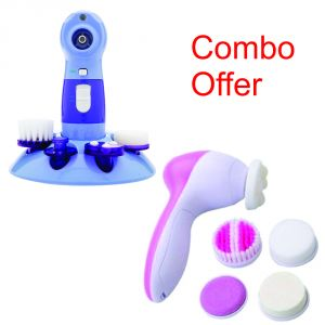 Deemark Combo Of Power Perfect Pore With Beauty Massager