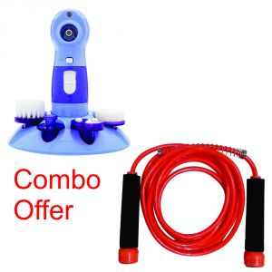 Deemark Combo Of Power Perfect Pore With Skipinng Rope
