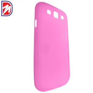 Deemark Samsung Side View Cover For Samsung Galaxy Grand-pink