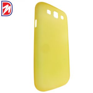 Deemark Samsung Side View Cover For Samsung Galaxy Grand-yellow