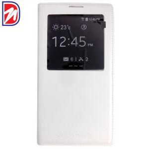 Deemark Samsung Flip Cover For Samsung Galaxy Note-whitedeemark Samsung Fli