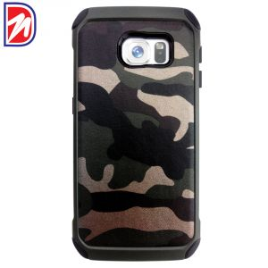 Deemark Samsung Side View Cover For Samsung Galaxy S6-militry