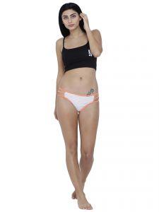 White Basiics By La Intimo Womens Linda Sexy Bikini Panty Code Bcpbk04we0