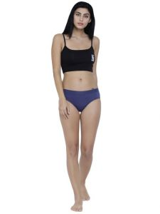 Tng,Jagdamba,Jharjhar,Bagforever,La Intimo,Bikaw,Pick Pocket,Lime Women's Clothing - Blue Basiics By La Intimo Women's Coqueto Flirty Hipster Panty - ( Code -BCPHP03RM0 )
