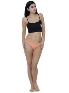 triveni,Solemio,La Intimo,See More,Lime,Shonaya,Soie,Lotto Apparels & Accessories - Peach Basiics By La Intimo Women's Spiffy Semiseamless Panty - ( Code -BCPSS01PH0 )
