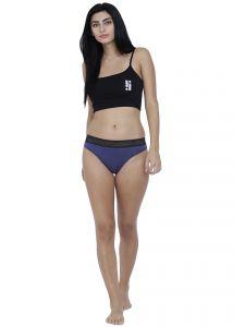 09338b4ad29d Blue Basiics By La Intimo Women's Bonita Pretty Thong Panty - ( Code  -BCPTH02RM0)