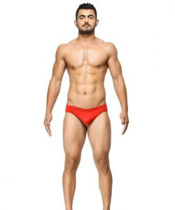 Basiics - Breatheable Chic Red Briefs - (code - Bcsbr01rd0 )