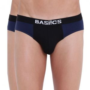 triveni,platinum,port,mahi,clovia,estoss,la intimo,sinina,Azzra Apparels & Accessories - Urbane Lad Brief Basiics by La Intimo (Pack of 2 ) - ( Code -BCSBR12B0880 )