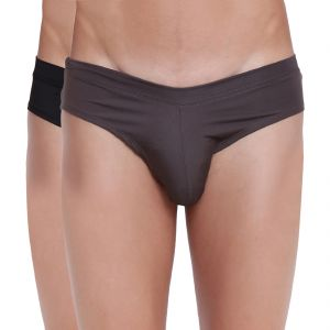 Briefs (Men's) - Fanboy Style Brief Basiics by La Intimo (Pack of 2) - ( Code -BCSSS03B02A0)