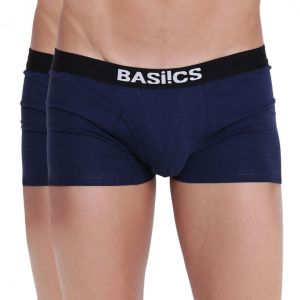 triveni,my pac,Solemio,La Intimo,See More,Lime,Shonaya,Supersox,My Pac Apparels & Accessories - Hot Hunk Trunk Basiics by La Intimo (Pack of 2 ) - ( Code -BCSTR04B0880 )