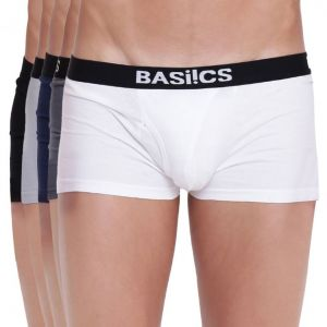 triveni,platinum,jagdamba,ag,estoss,port,Lime,Lotto,The Jewelbox,Aov,Sigma,La Intimo Apparels & Accessories - Hot Hunk Trunk Basiics by La Intimo (Pack of 5 ) - ( Code -BCSTR04E0MC0 )
