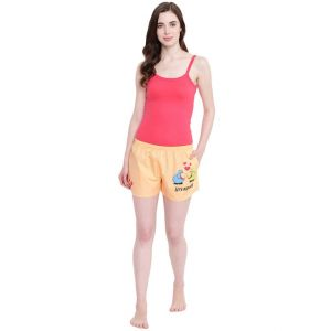 soie,vipul,kaamastra,the jewelbox,sinina,jagdamba,see more,sangini,la intimo,magppie Shorts (Women's) - La Intimo Sheep Play Safe Peach shorts - ( Code - BOLIF001PH0 )